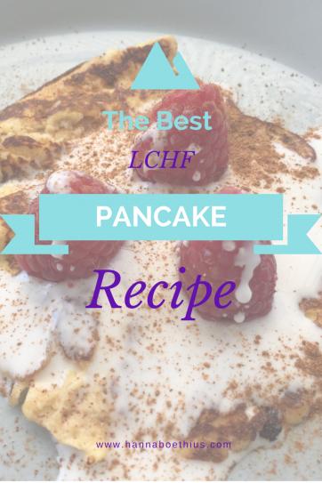 LCHF Pancake Recipe